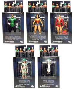 Alex Ross Justice League Series 3 set of 5