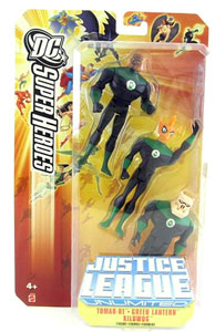 DC Superheroes JLU: Tomar-Re, Green Lantern, and Kilowog