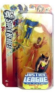 DC Superheroes: Hawkgirl, Dr. Fate, and Vixen 3-Pack