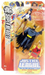 DC Superheroes Justice League Unlimited 3-Pack: Zatanna, Batman, and Shinning Knight