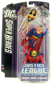 DC Superheroes Purple JLU: Wonder Woman, Superman, Etrigan