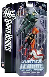 DC Superheroes 3-Pack Purple: Green Arrow, Hawk, Volcana