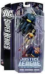 DC Superheroes 3-Pack Purple: Superman, Batman, Wonder Woman