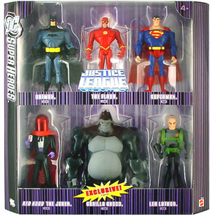 DC Superheroes Purple Box - Gorilla Grodd Action Figure 6-Pack