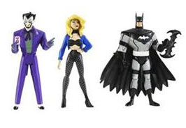 DC Superheroes 3-Pack Purple: Batman, Joker, Black Canary