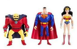 DC Superheroes 3-Pack Purple: Superman, Wonder Woman, Etrigan