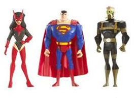 DC Superheroes 3-Pack Purple: Superman, Sand, Star Sapphire