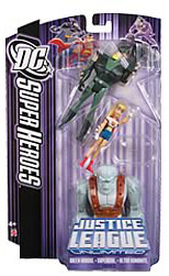 DC Superheroes 3-Pack Purple: Supergirl, Ultra Humanite, Green Arrow