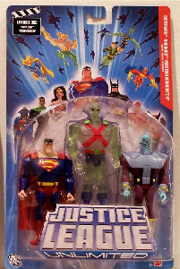 JLU: Superman, Brainiac, Translucent Martian Manhunter