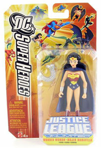 DC Superheroes JLU: Wonder Woman with Cape