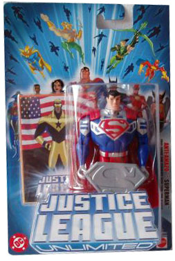 Justice League Unlimited: Anti-Amazo Superman