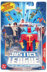 Justice League Unlimited: Red Tornado
