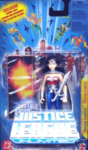 Justice League Unlimited: Planet Patrol Wonder Woman