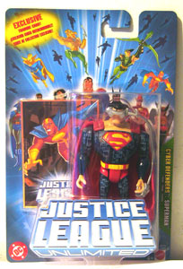 Justice League Unlimited: Cyber Defender Superman