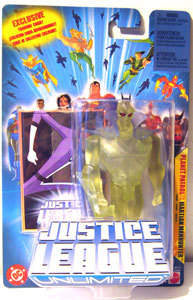 Justice League Unlimited: Planet Patrol Martian Manhunter