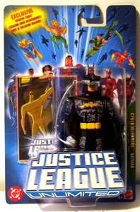 Justice League Unlimited: Cyber Defender Batman