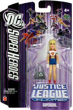 DC Superheroes Purple - Supergirl