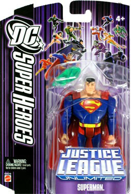 DC Superheroes Purple - Superman with Kryptonite