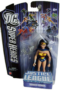 DC Superheroes Purple: Wonder Woman with Cape