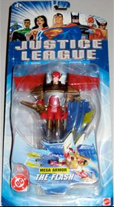 Justice League 3.75-Inch Mega Armor The Flash