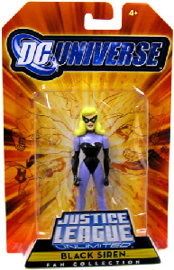 DC Universe - JLU: Fan Collection - Justice Guild Black Siren