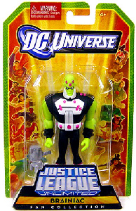 DC Universe - JLU: Fan Collection - Brainiac
