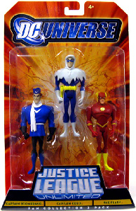 DC Universe - Justice League Unlimited - Captain Boomerang, Captain Cold, The Flash