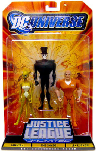DC Universe - Justice League Unlimited - Cheetah, The Shade, Lex Luthor