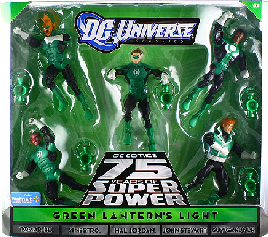 DC Universe - JLU - Green Lanterns Light [Tomar Re, Sinestro, Hal Jordan, John Stewart, Guy Gardner]