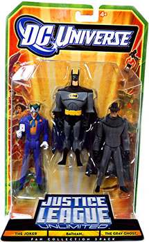 DC Universe - Justice League Unlimited - Batman, Joker, Gray Ghost