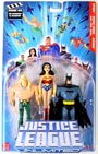 Justice League Unlimited 3-Pack: Batman, Wonder Woman, Aquaman