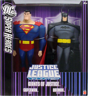 10-inch Purple Box: Giants of Justice Superman and Batman