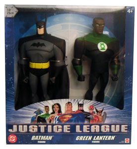 10-Inch Justice League 2-Pack: BATMAN and GREEN LANTERN