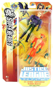 DC Superheroes JLU: Lex Luthor, Copperhead, and Mirror Master