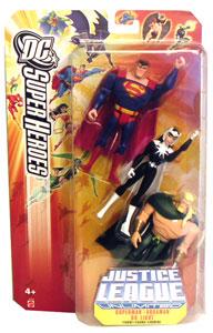 DC Superheroes JLU: Superman, Dr. Light, and Aquaman 3-pack