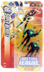 Justice League Unlimited 3-Pack: Kyle Rayner, Katma Tui and Arkis Chummuck