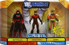 DC Universe Crisis - Batwoman, Nightwing, Robin