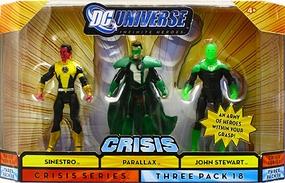 DC Universe Crisis - Sinestro, Parallax, John Stewart