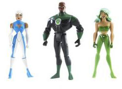 DC Superheroes 3-Pack Purple: Green Lantern, Fire, Ice