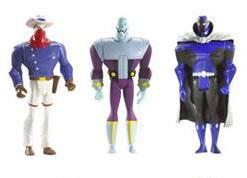 DC Superheroes 3-Pack Purple: Vigilante, Brianiac, Obsidian