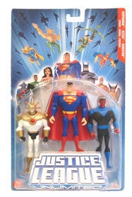 Justice League Unlimited 3-Pack: Superman, Aztec Sinestro