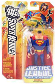 DC Superheroes JLU: Superman With Sword