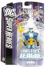 DC Superheroes Purple - Blue Devil