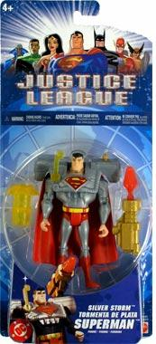 Justice League 3.75-Inch Silver Storm Superman