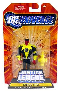 DC Universe - JLU: Sinestro Yellow Suit