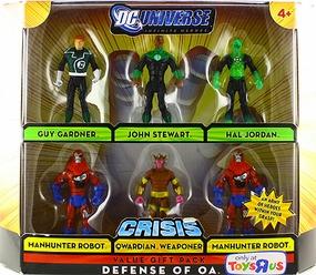 DC Universe - Crisis - Defense of Oa [Guy Gardner, John Stewart, Hal Jordan, Manhunter Robot, Qwardian Weaponer]