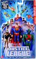 Justice League Unlimited 3-Pack: Superman, Martian Manhunter, Booster Gold
