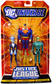 DC Universe - Justice League Unlimited - Livewire, Superman, Weather Wizard