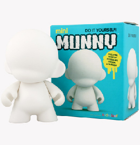 4-Inch Munny White Edition
