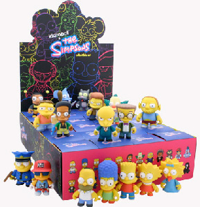 4-Inch Kidrobot Simpsons Series 1 BLIND BOX[Random Character]